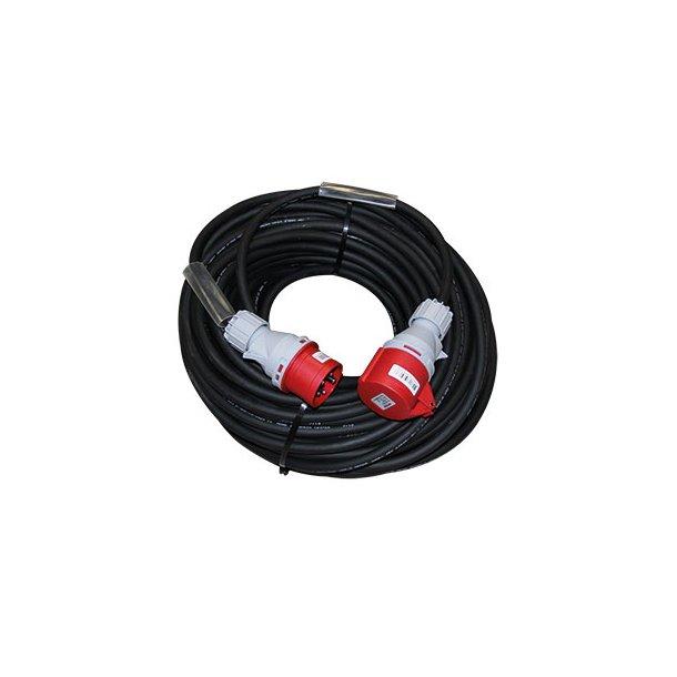 Kraft kabelsæt inkl. stikdåse - 25 mtr